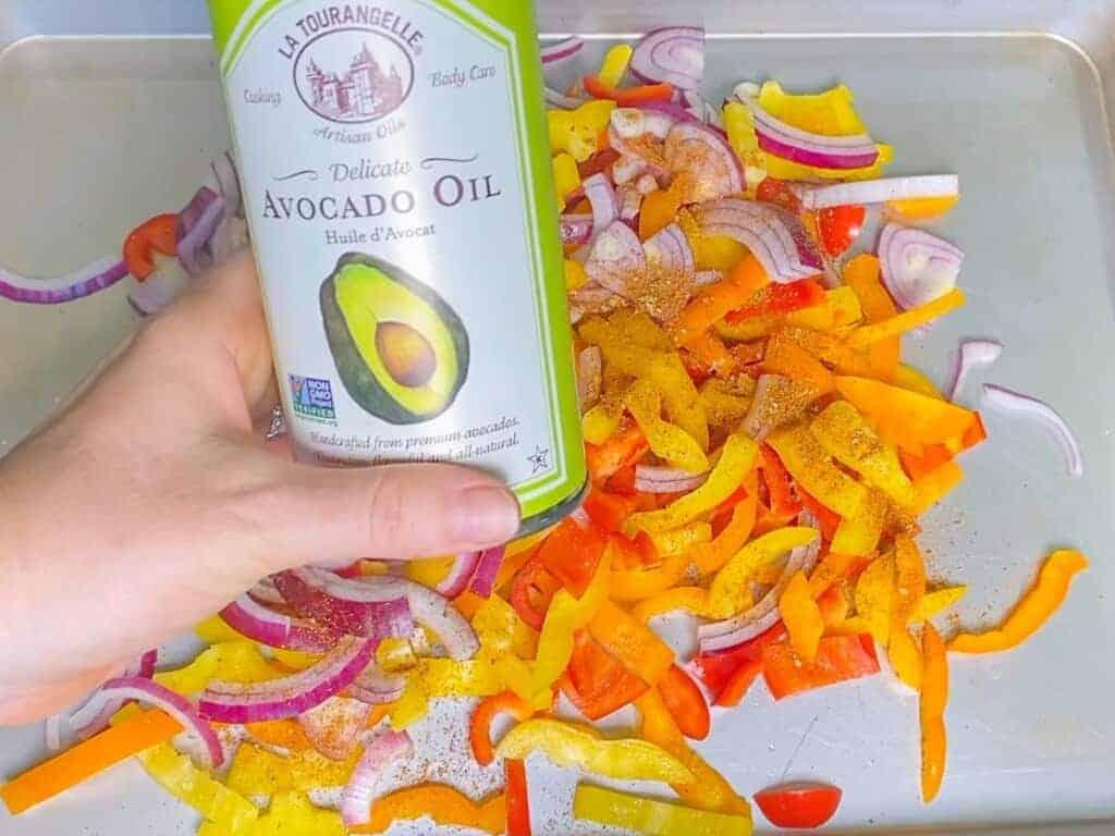 add avocado oil