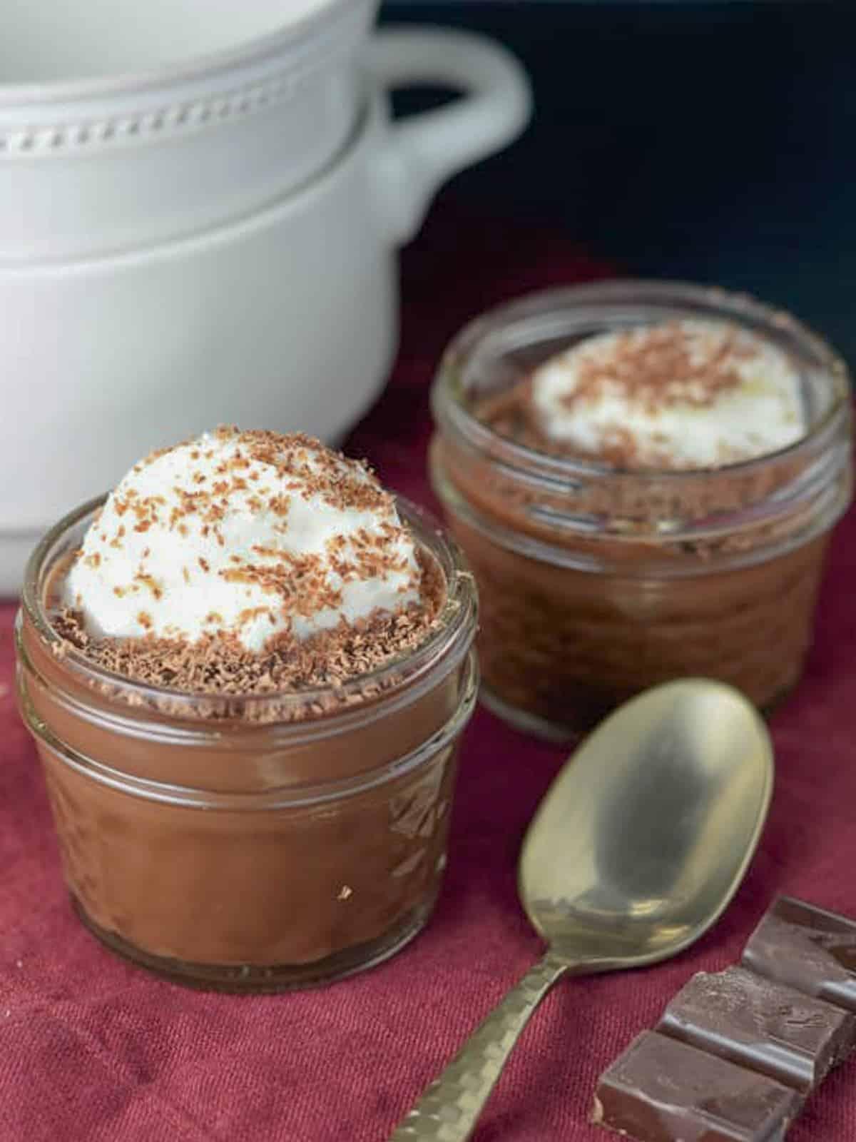 Easy Pots de Creme recipe