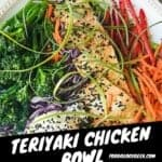 Try this yummy TERIYAKI CHICKEN BOWL. I'll show you how to make teriyaki chicken with a quick marinade that is healthy and delicious.