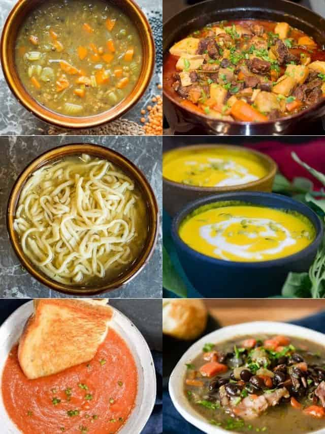 cozy soups web stories poster image