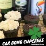 Irish car bomb cupcakes pinterest image