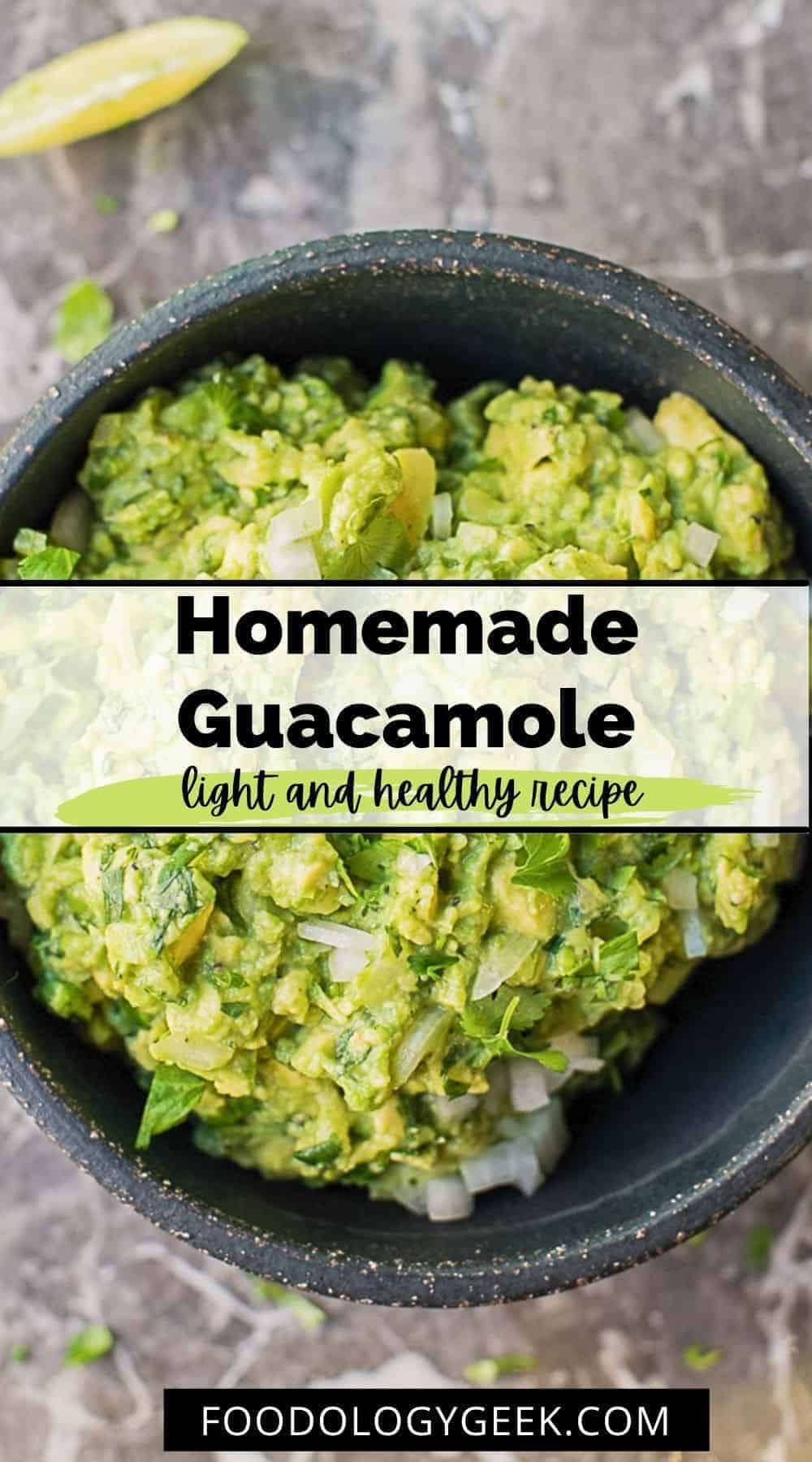 This the BEST guacamole recipe! It's honestly everything guacamole should be. It's creamy and chunky and has a ton of flavor.