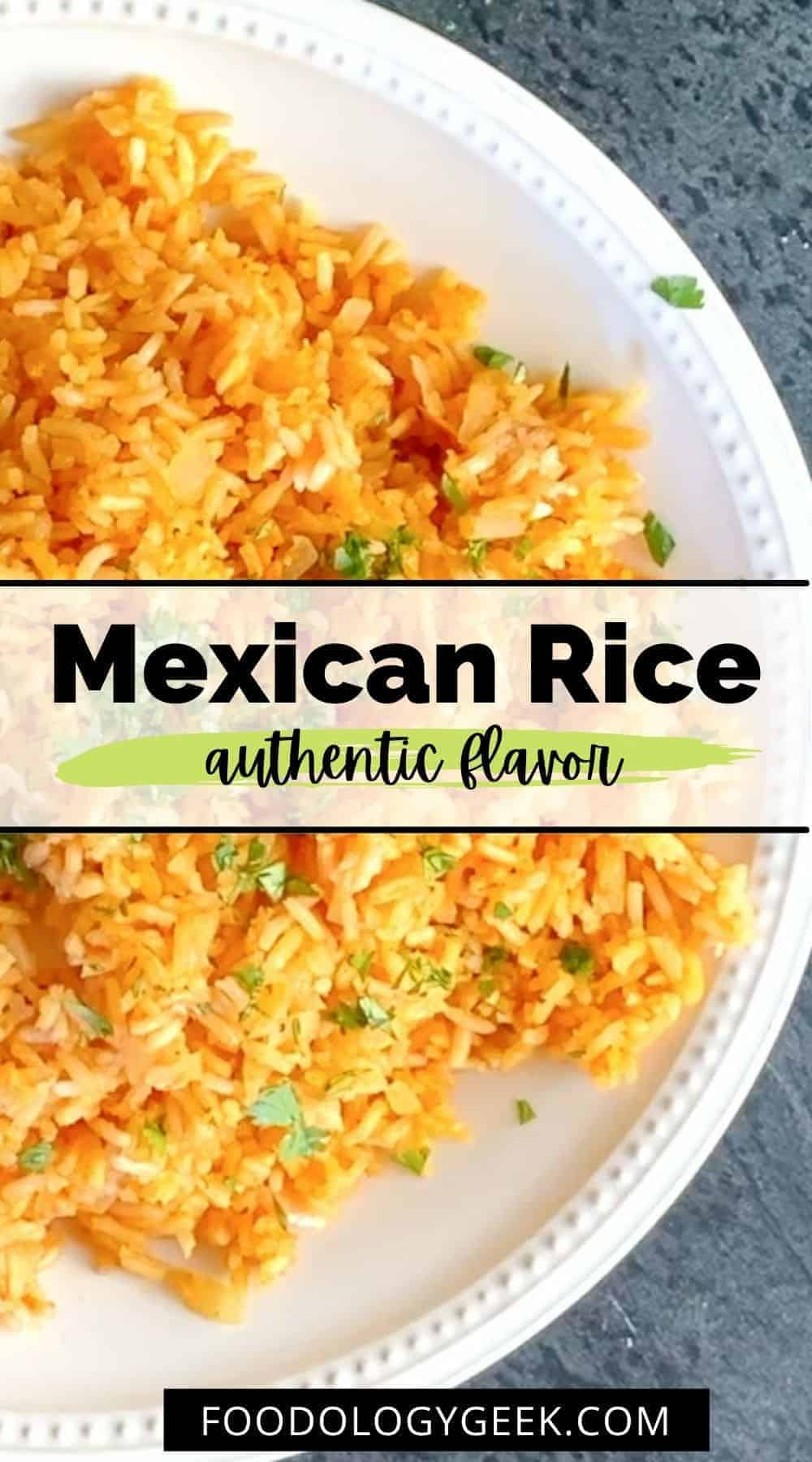 This is truly the best Mexican rice recipe out there. I've tried a bunch and always come back to this one. This delicious rice recipe is fluffy and the perfect side dish taco tuesday!