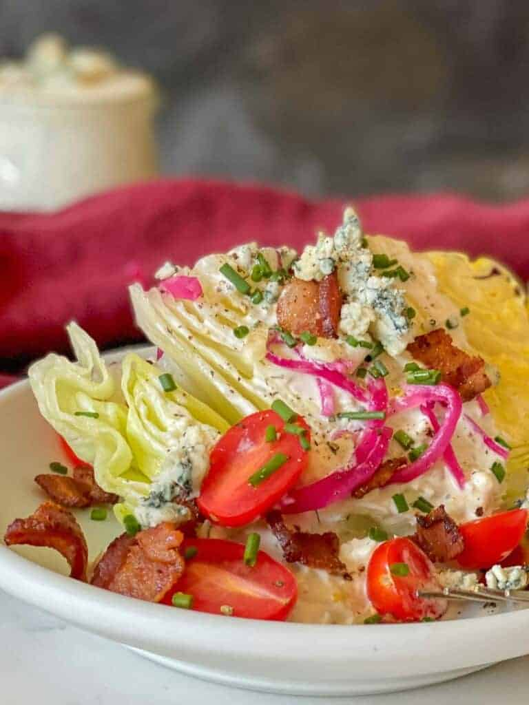 the best wedge salad recipe ever!!!