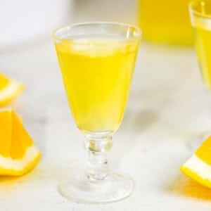 limoncello, made from scratch the old fashioned way