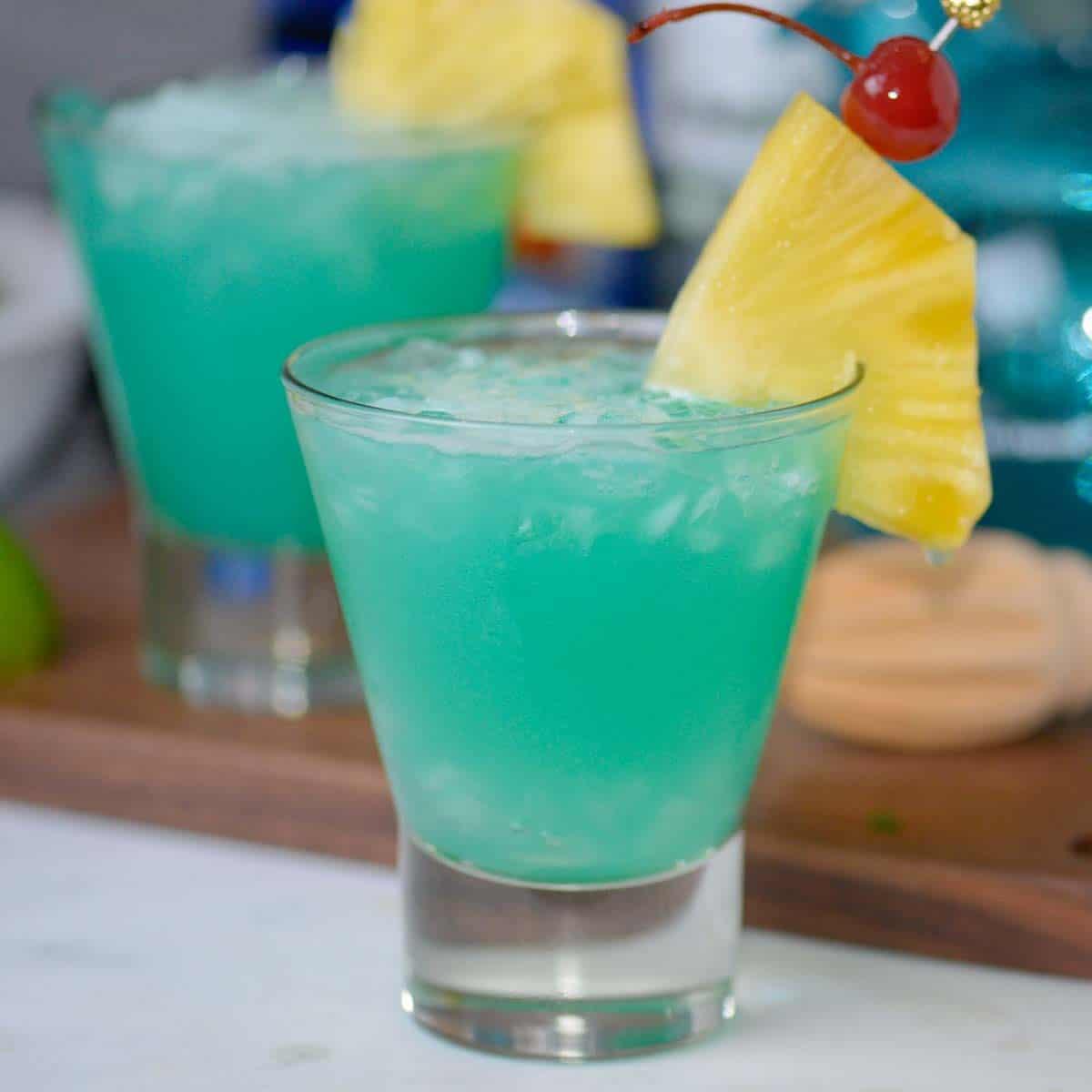 blue hawaii cocktails facebook image