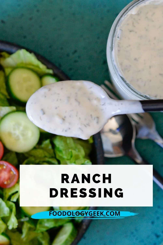ranch dressing pin