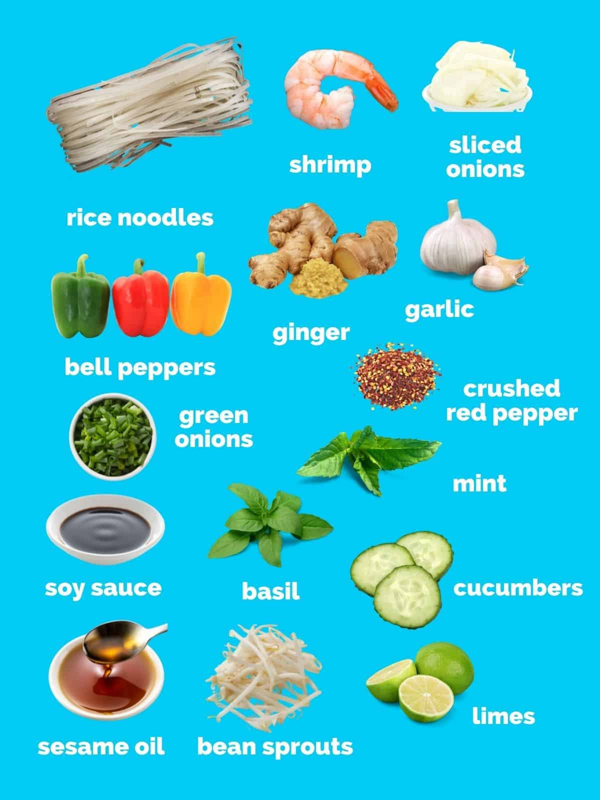 noodle bowl ingredients