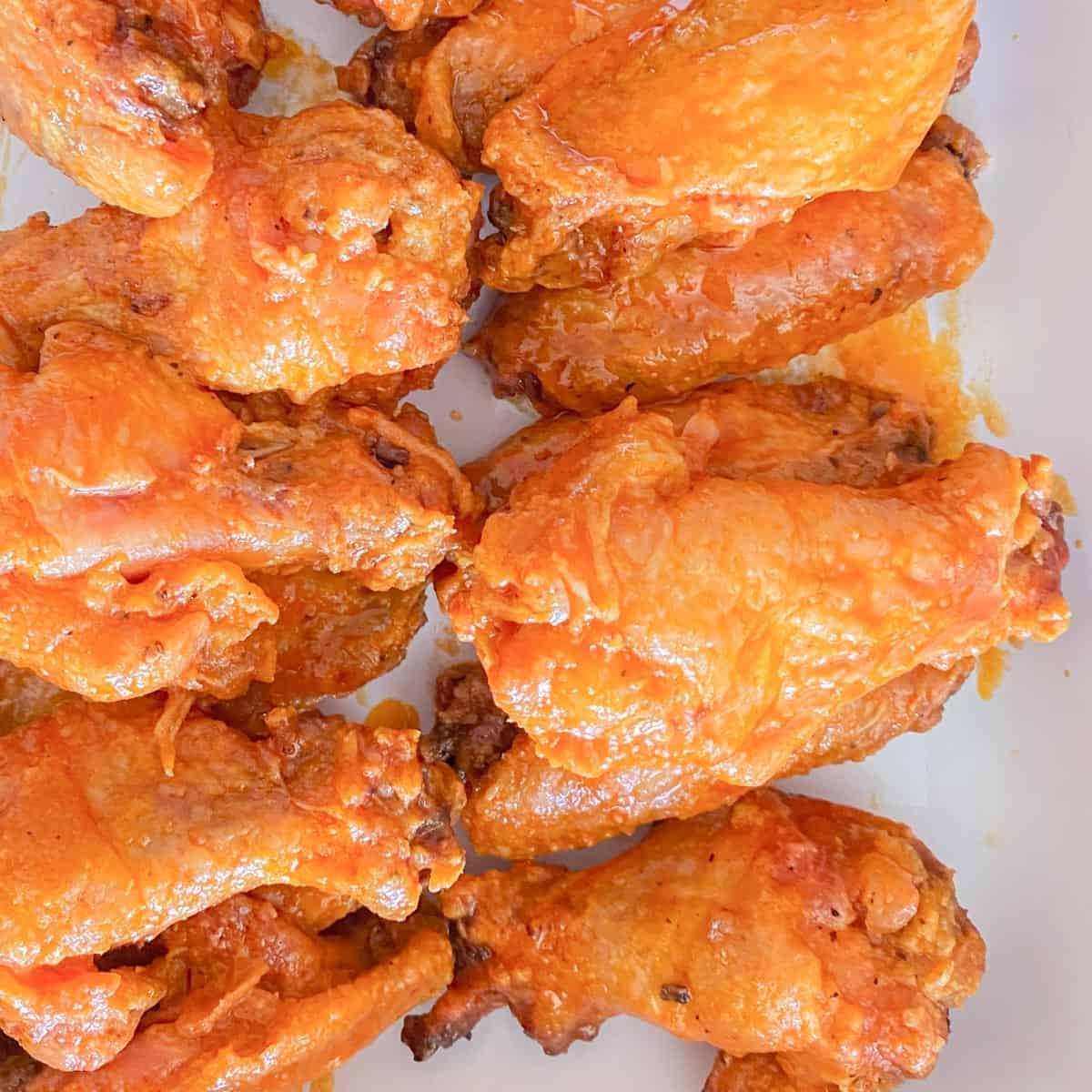 crispy baked buffalo wings recipe